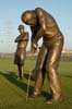 TJ Dixon & James Nelson - Sculptors: The Golfers